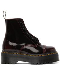 Dr. Martens - レッド Sinclair Quad Retro ブーツ - Lyst