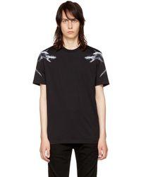 Givenchy - Black Sharks 74 T-shirt - Lyst