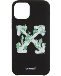 Off-White c/o Virgil Abloh ブラック Corals Iphone 11 Pro ケース