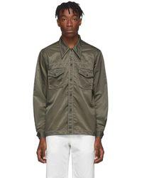 Paa Khaki Rodeo Shirt - Green