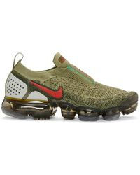 Nike - Green And Red Vapormax Fk Moc 2 Trainers - Lyst