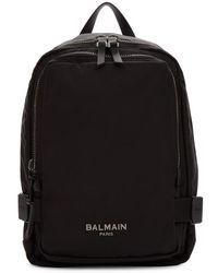 Balmain ブラック Urban バックパック