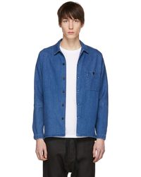 Stephan Schneider - Blue Denim Soft Shirt - Lyst