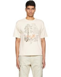 Reese Cooper T-shirt graphique blanc cassé édition juliet johnstone