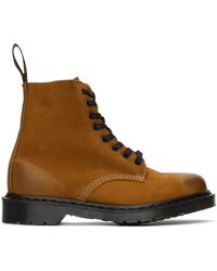 Dr. Martens タン Made In England 1460 Pascal Titan ブーツ - ブラウン