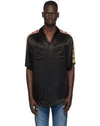 Gucci Acetate Oversize Bowling Shirt - Black