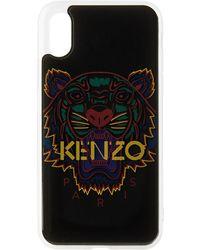 KENZO ブラック 3d Tiger Iphone X/xs ケース