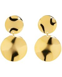 Isabel Marant - Gold Petals Earrings - Lyst
