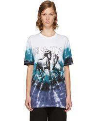 Baja East - Multicolour Tie-dye Horses Logo T-shirt - Lyst