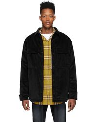 Fear Of God - Black Corduroy Jacket - Lyst