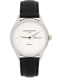 Frederique Constant シルバー And ブラック Classics クオーツ 腕時計 - マルチカラー