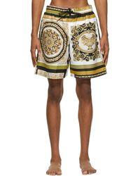 Versace - マルチカラー Barocco Mosaic スイム ショーツ - Lyst