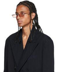Grey Ant Bronze Fait Sunglasses - Black