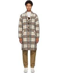 Étoile Isabel Marant Beige Wool Gabriel Blanket Coat - Natural