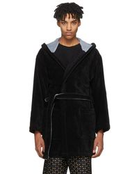 Fendi - Black Bag Bugs Bath Robe - Lyst