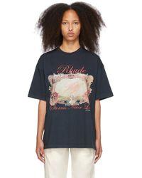 Rhude Mirror T-shirt - Black