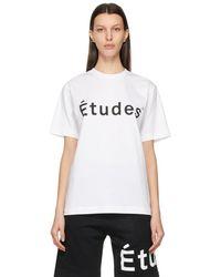 Etudes Studio White Wonder T-shirt