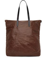 Dries Van Noten - Brown Faux-leather Tote - Lyst