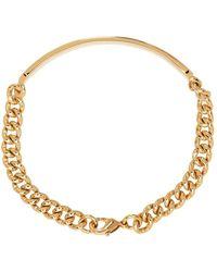 A.P.C. Gold Darwin Bracelet - Metallic