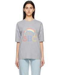 See By Chloé - グレー Sunset Sbc T シャツ - Lyst