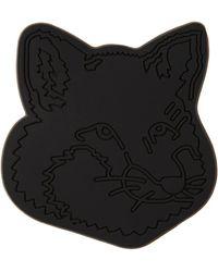 Maison Kitsuné ブラック Fox Head フォン ホルダー