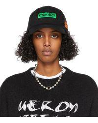 Heron Preston Hp Trading ハット - ブラック