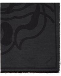 KENZO グレー K-tiger スカーフ