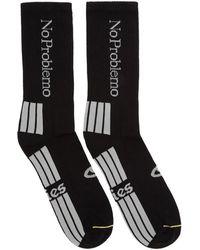 Aries No Problemo Socks - Black
