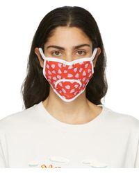 Marc Jacobs マルチカラー フェイス マスク 3 枚セット