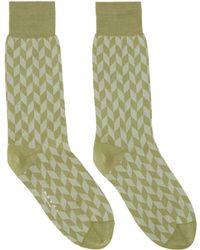 Marni - Green Jacquard Socks - Lyst