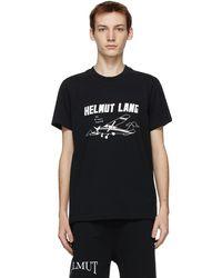 Helmut Lang - Ssense 限定 Saintwoods エディション ブラック T シャツ - Lyst
