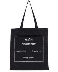 Maison Margiela Cabas noir Icon Shopping
