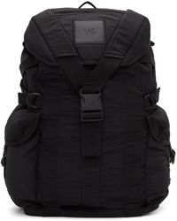 Y-3 Black Ch2 Utility Backpack