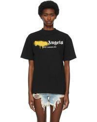 Palm Angels - ブラック Los Angeles ロゴ T シャツ - Lyst