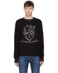 Saint Laurent - Black 'handsome' Sweater - Lyst