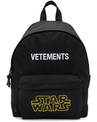 Vetements Star Wars Edition ブラック ロゴ バックパック