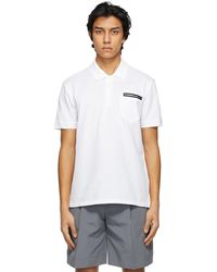 Givenchy ホワイト ポロシャツ