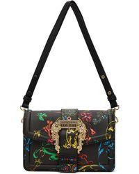 Versace Jeans Couture ブラック & マルチカラー Baroque ショルダー バッグ