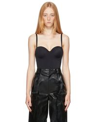 Wolford - ブラック Mat De Luxe Form String ボディスーツ - Lyst