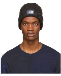 The North Face - Black Salty Dog Beanie - Lyst