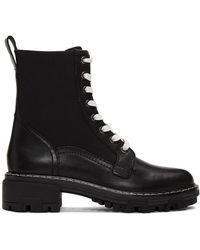 Rag & Bone Shiloh Leather Boots - Noir