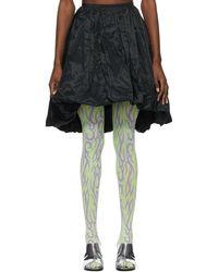 Ashley Williams Puffball Skirt - Black