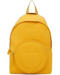 Anya Hindmarch - Yellow Chubby Wink Backpack - Lyst