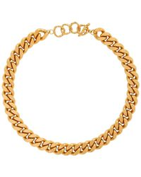 Elhanati Gold Charley Necklace - Metallic