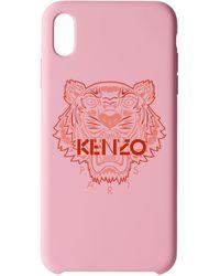 KENZO ピンク & レッド タイガー Iphone X+ ケース