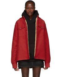Simon Miller - Red Collyer Jacket - Lyst
