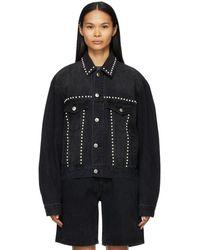 we11done Black Pearl Denim Jacket