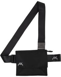 A_COLD_WALL* * Black Utility Pouch
