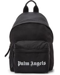 Palm Angels ブラック スモール バックパック