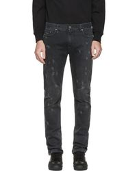 Marc Jacobs | Black Distressed Jeans | Lyst